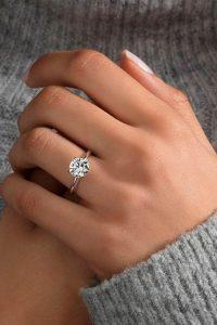 ทำความสะอาดแหวนหมั้น